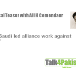 Political Teaser: Cemendtaur's Views about KSA's unilateral announcement of 34-Country allience