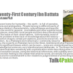 The Twenty-First Century Ibn Battuta  By  Misbah U. Azam, Ph.D.