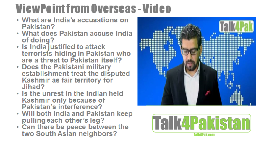 Are terrorists in Pakistan enemies of both India and Pakistan?