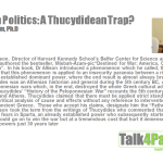 Pakistan Politics: A Thucydidean Trap? By Misbah Azam, Ph.D.