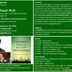 Book Event: Brokering Peace in Nuclear Environments by Dr. Moeed Yusuf