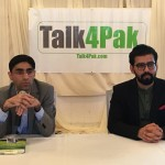 Dr. Moeed Yusuf in Talk4Pak Book Event